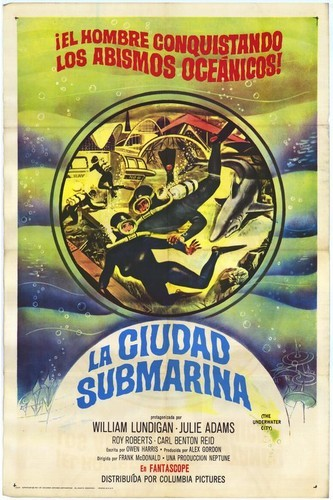 THE UNDERWATER CITY FILM POSTER 6