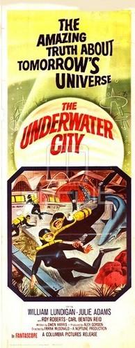 THE UNDERWATER CITY FILM POSTER 7