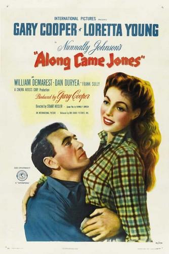 ALONG CAME JONES FILM POSTER 2