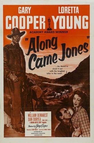 ALONG CAME JONES FILM POSTER 3