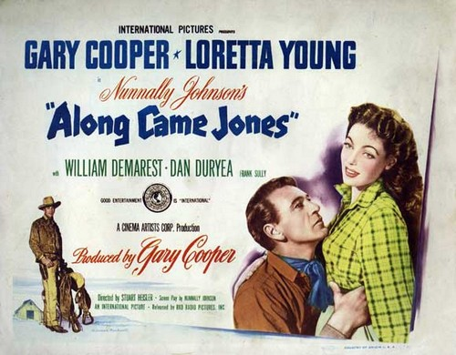ALONG CAME JONES FILM POSTER 4