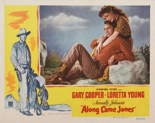 ALONG CAME JONES FILM POSTER 5
