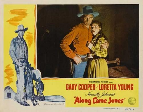 ALONG CAME JONES FILM POSTER 7