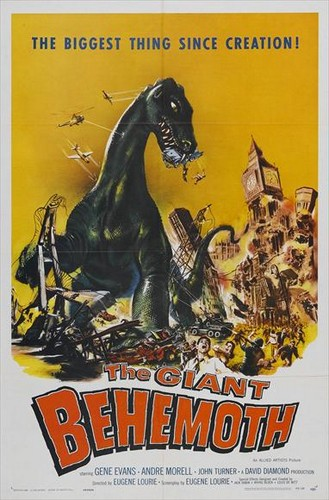 BEHEMOTH THE SEA MONSTER FILM POSTER 1