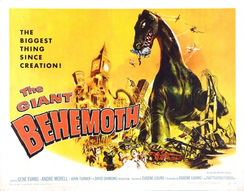 BEHEMOTH THE SEA MONSTER FILM POSTER 3