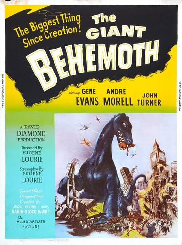 BEHEMOTH THE SEA MONSTER FILM POSTER 4