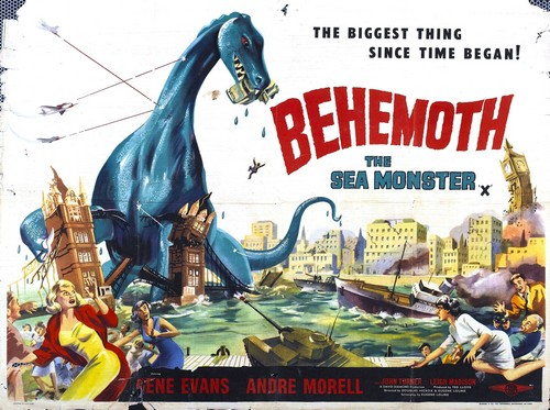 BEHEMOTH THE SEA MONSTER FILM POSTER 5