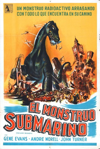 BEHEMOTH THE SEA MONSTER FILM POSTER 6