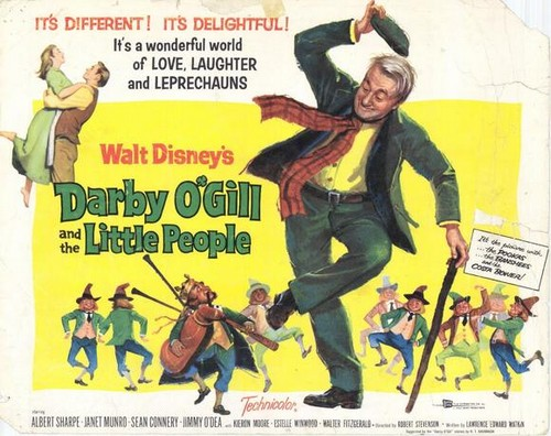 DARBY O`GILL & THE LITTLE PEOPLE FILM POSTER 3
