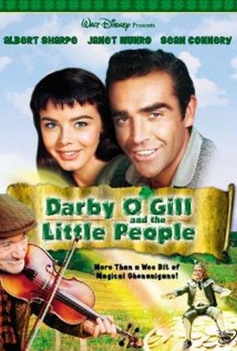 DARBY O`GILL & THE LITTLE PEOPLE FILM POSTER 5