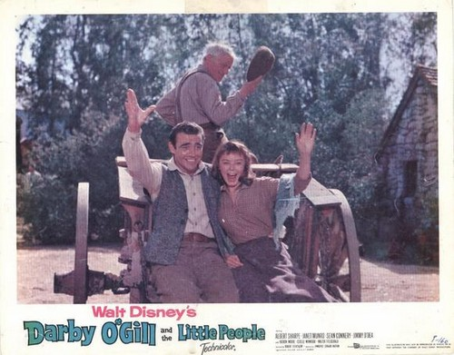 DARBY O`GILL & THE LITTLE PEOPLE FILM POSTER 6