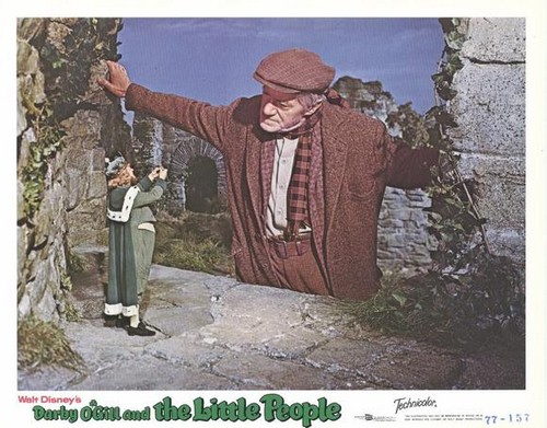 DARBY O`GILL & THE LITTLE PEOPLE FILM POSTER 7