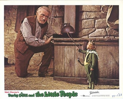 DARBY O`GILL & THE LITTLE PEOPLE FILM POSTER 8