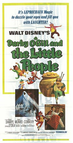DARBY O`GILL & THE LITTLE PEOPLE FILM POSTER 9