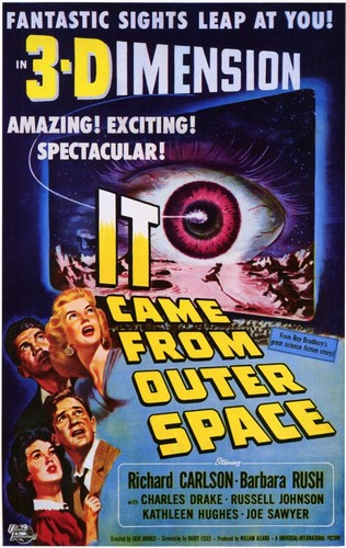 IT CAME FROM OUTER SPACE FILM POSTER 1