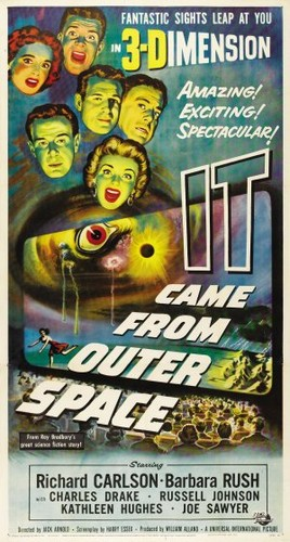 IT CAME FROM OUTER SPACE FILM POSTER 2