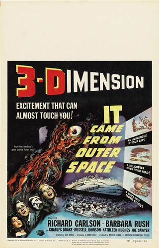 IT CAME FROM OUTER SPACE FILM POSTER 3