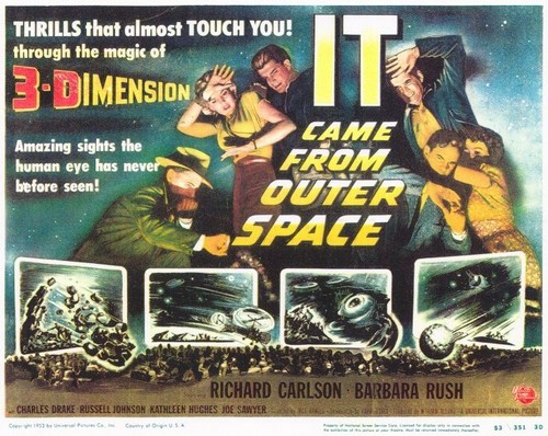 IT CAME FROM OUTER SPACE FILM POSTER 9