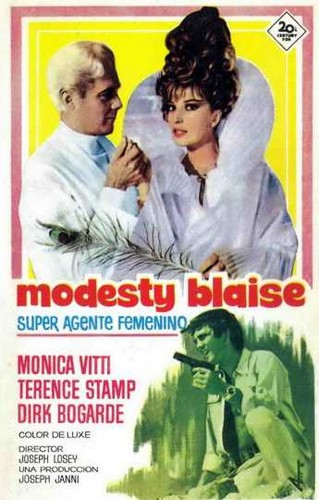 MONTESTY BLAISE FILM 4