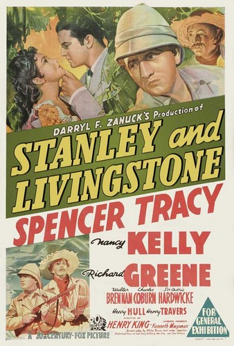 STANLEY & LIVINGSTONE FILM POSTER 1