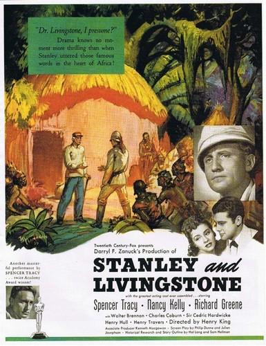 STANLEY & LIVINGSTONE FILM POSTER 4