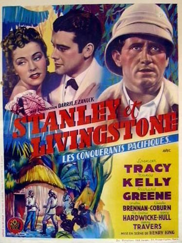 STANLEY & LIVINGSTONE FILM POSTER 5