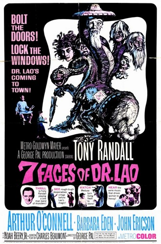 THE 7 FACES OF DR LAO FILM POSTER 2
