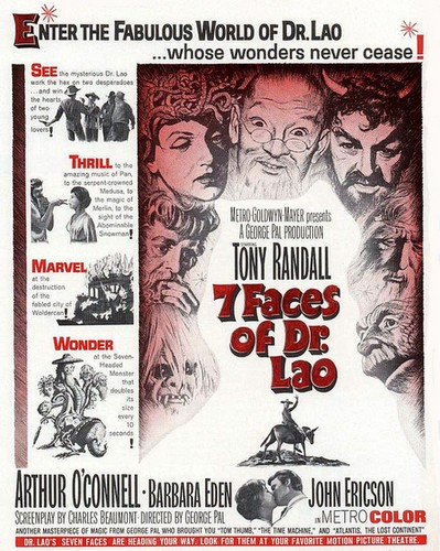 THE 7 FACES OF DR LAO FILM POSTER 6