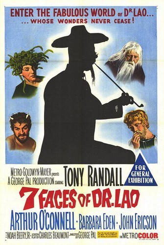 THE 7 FACES OF DR LAO FILM POSTER 7