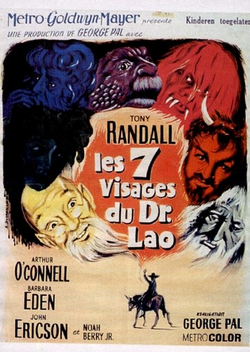 THE 7 FACES OF DR LAO FILM POSTER 8