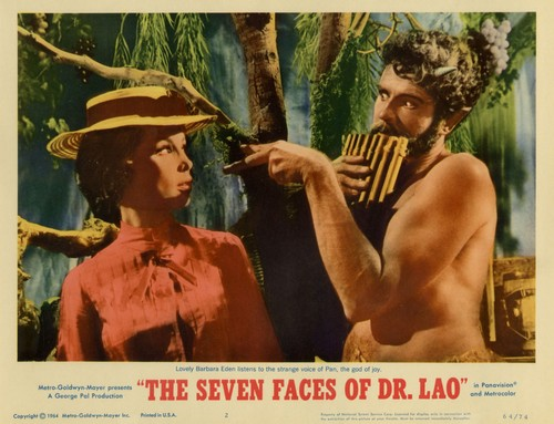 THE 7 FACES OF DR LAO LOBBY CARD 1