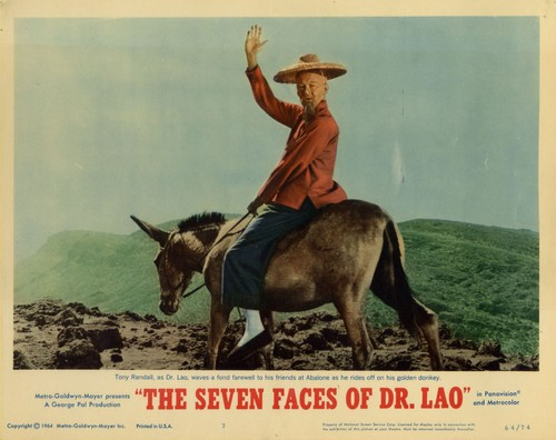 THE 7 FACES OF DR LAO LOBBY CARD 5