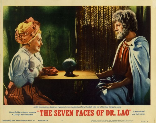 THE 7 FACES OF DR LAO LOBBY CARD 6