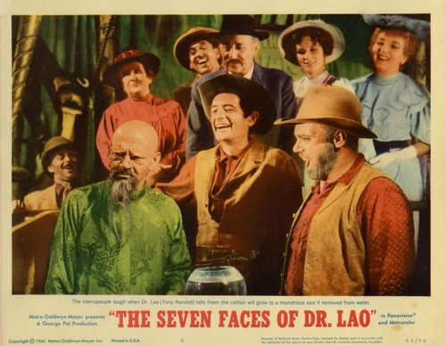 THE 7 FACES OF DR LAO LOBBY CARD 7