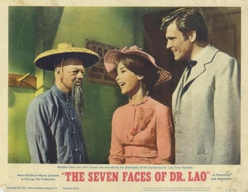 THE 7 FACES OF DR LAO LOBBY CARD 8