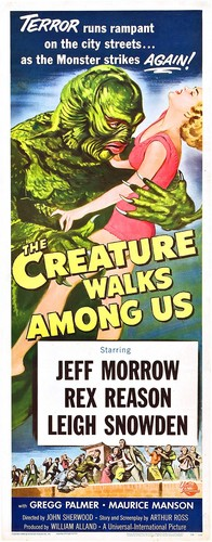 THE CREATURE WALKS AMONG US FILM POSTER 6