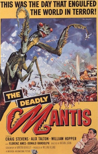 THE DEADLY MANTIS FILM POSTER 1