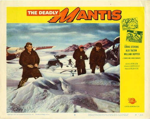 THE DEADLY MANTIS FILM POSTER 10