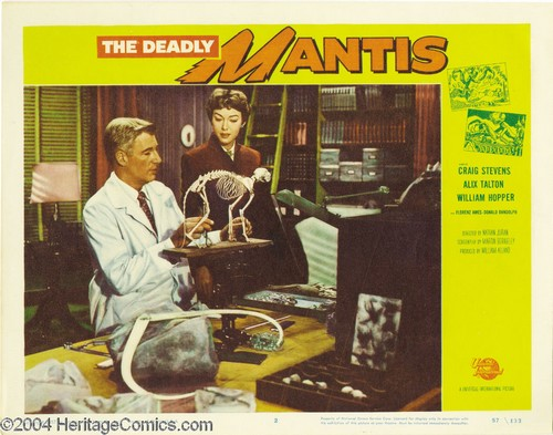 THE DEADLY MANTIS FILM POSTER 12