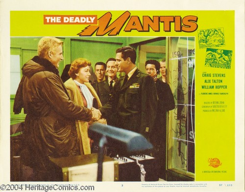 THE DEADLY MANTIS FILM POSTER 13