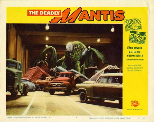 THE DEADLY MANTIS FILM POSTER 14