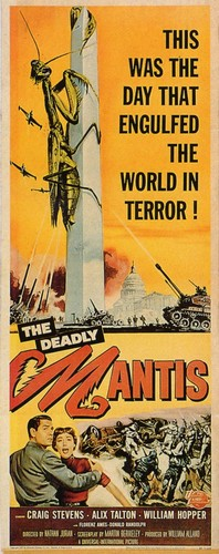 THE DEADLY MANTIS FILM POSTER 2
