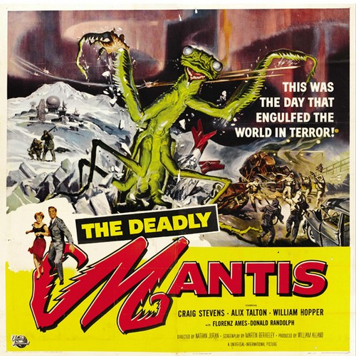 THE DEADLY MANTIS FILM POSTER 4