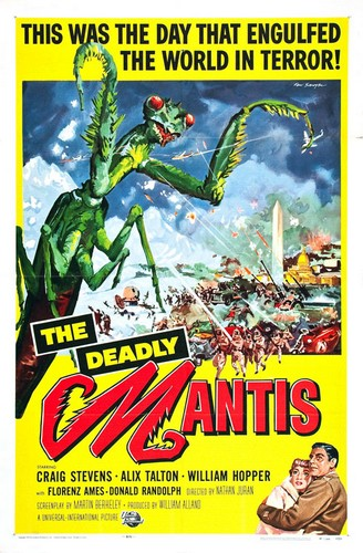 THE DEADLY MANTIS FILM POSTER 5