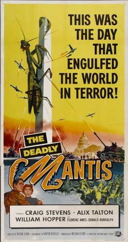 THE DEADLY MANTIS FILM POSTER 8