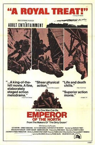 THE EMPEROR OF THE NORTH POLE FILM POSTER 4