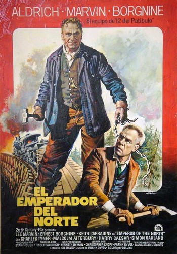 THE EMPEROR OF THE NORTH POLE FILM POSTER 8