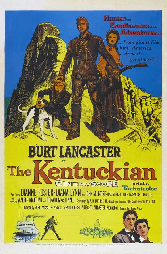 THE KENTUCKIAN FILM POSTER 1