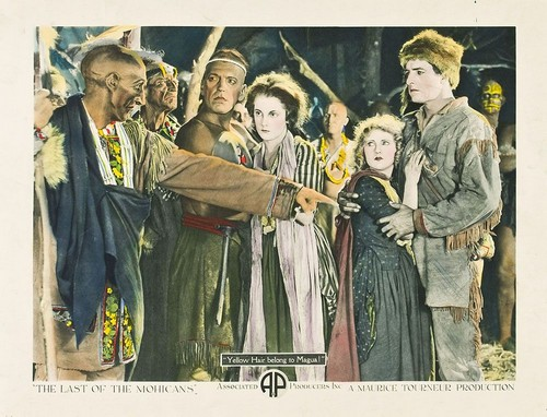 THE LAST OF THE MOHICANS 1920 FILM POSTER 1