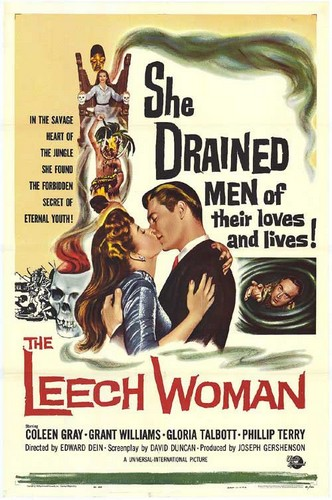 THE LEECH WOMAN FILM POSTER 1